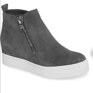 Steve Madden Wedgie high top platform sneaker